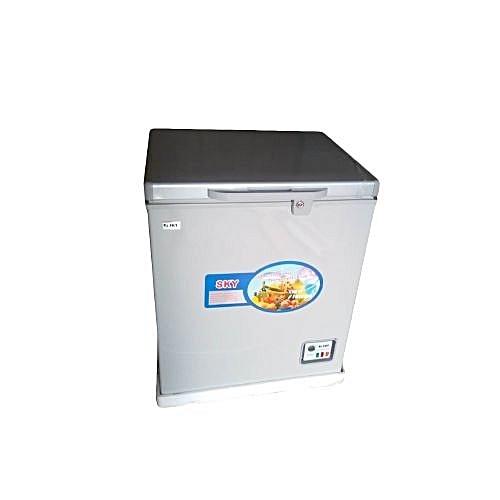 Chest Freezer HS-227C Sliver X150 Litres