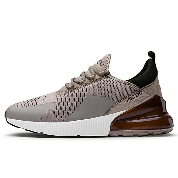 new style bb662 d3a0a Mens Air 270 Sneakers Air Cushion Athletic Footwear Khaki