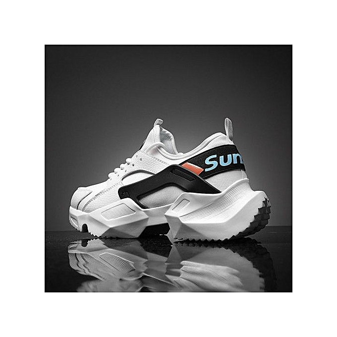 elegant shape agreatvarietyofmodels affordable price Men Trendy Sneakers Summer New Casual Shoes-black And White