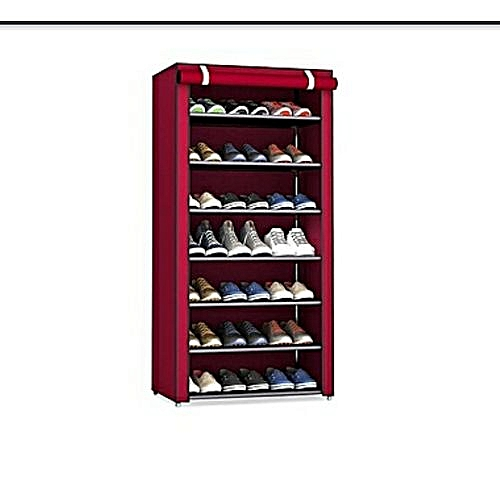 6- Layer Shoe Rack With Cover.