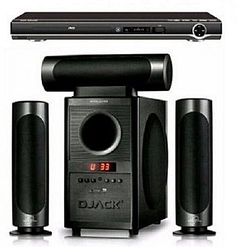 3.1CH Powerful Bluetooth Home Theatre System Dj-903 With Powerful DVD Player