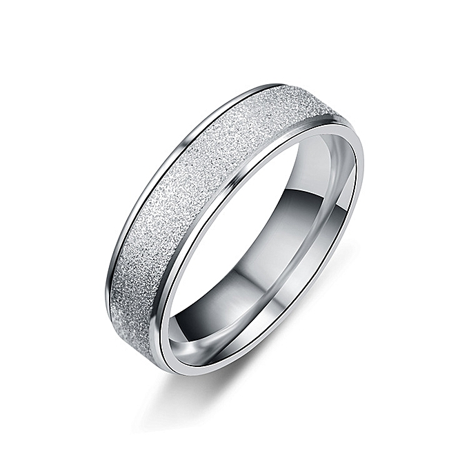 b2815780c 6mm 925 Sterling Silver Rings For Women And Men Simple Ring Grind High  Polishing Wedding Band