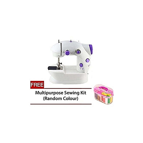 Foot Pedal And Adapter Sewing Machine + FREE Sewing Kit Box