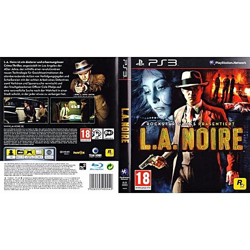 L.A. Noire PS3 Video Game