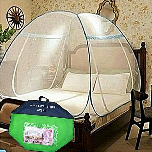 MosquitoTent Net (Foldable) 6X6 Standard Bed