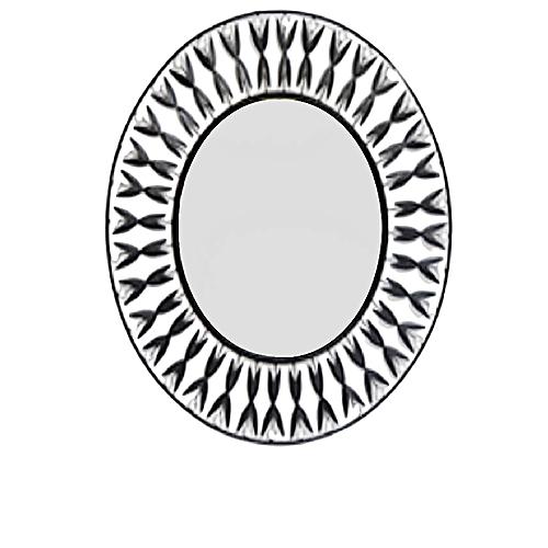 Tiffany Large Round Wall MIrror