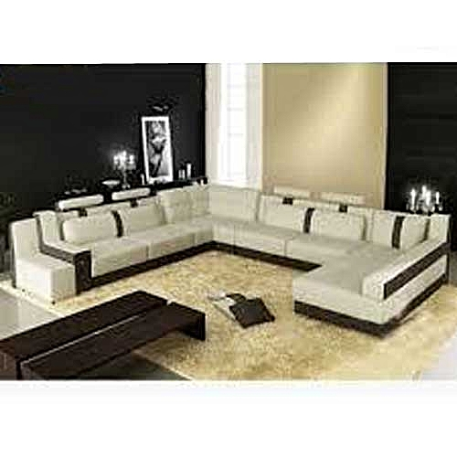 Audreydrey 8 Seater Sectional Sofa Set (Free Centre Table)