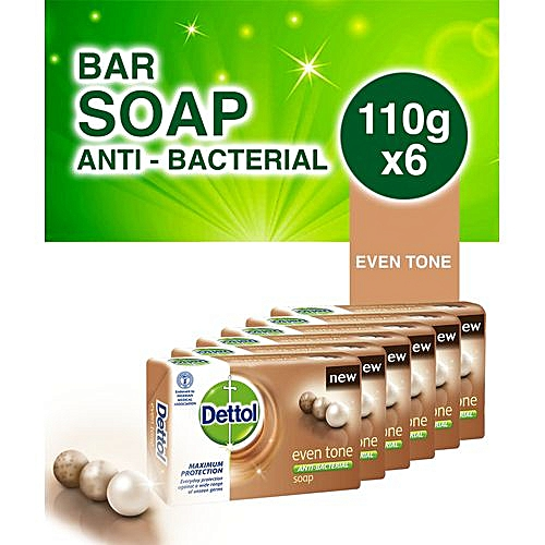 Even Tone Bathing Soap - 110g (Pack Of 6)
