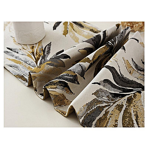 Table Runner/ Pillowcase Countryside Style Jacquard Flora Printed Tablecloths Home Dinner Party Decor # 32*160CM