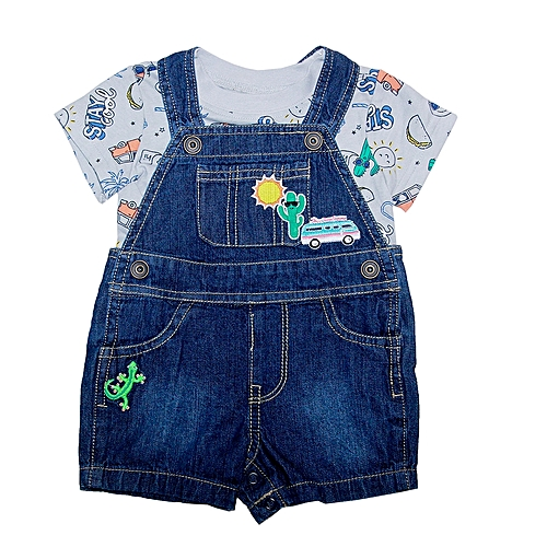 832e05ff5a23d The Children's Place Dungarees Jeans And Matching Tee | Jumia NG