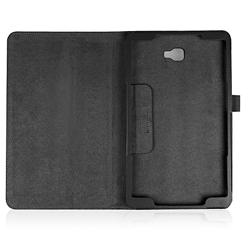 Folding Stand Leather Case Cover For Samsung Galaxy Tab A 10.1 2016 T580N BK