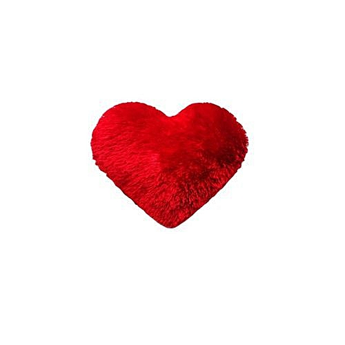 Love Heart Throw Pillow-6 Pieces-Red