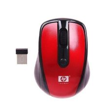 HP 5GHZ Wireless Mouse - Red