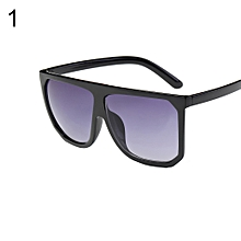 8ba7aa7664970 Women Oversized Square Gradient Color Lens Retro Sunglasses Eye Protection  Sun Glasses-1