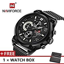 NAVIFORCE Top Luxury Brand Watch Famous Fashion Sports Cool Men Quartz Watches Waterproof Wristwatch For Male