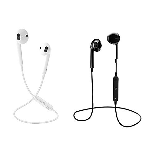 GB Running Wireless Bluetooth Earphones Stereo B HD Aural In-Ear-white