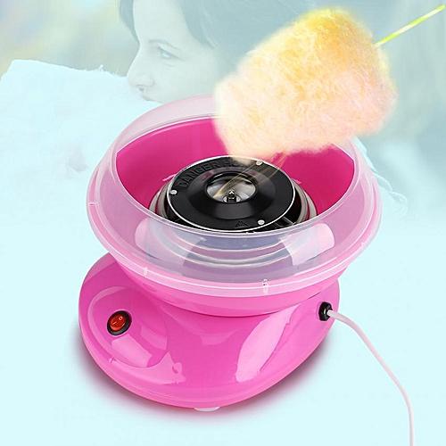 Minxin 220V 500W Mini Electric Cotton Candy Maker DIY Sugar Floss Machine Kids Gift Pink