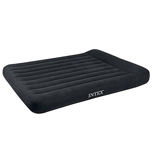 Inflatable Air Bed With Inbuilt Pillow Rest - 2 Persons