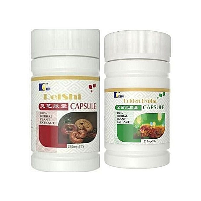Staphylococcus Aureus Treatment Pack (golden Hypha 30 Capsule And Reishi  Small 30 Capusule )