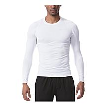 5d1e2956d848c Men  039 s Quick Dry Long Sleeve T-Shirt Running Fitness Shirts Workout
