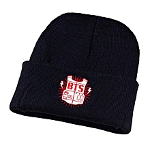 0a824eef48d Bts Adjustable Beanie Cap Casual Knitted Hat For Unisex