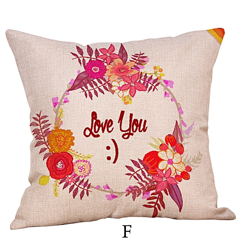 Happy Mothers' Day Pillow Cases Sofa Cushion Cover Home Decor Pillow Case