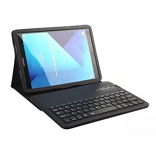 reputable site 8fdd5 453da Samsung Galaxy TAB S3 Wireless Keyboard Protective Flip Leather Case