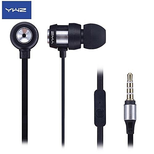 Wired Metal Earphones With Noise Isolation, Precision Bass Earphones With Microphone,Hi-Fi Stereo, Compatible With Most Mobile Cell Phones And Tablets, Jack:3.5mm