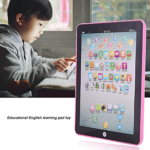 Electronic Preschool English Learning Educational Teach Toy Kids Children Tablet Pad