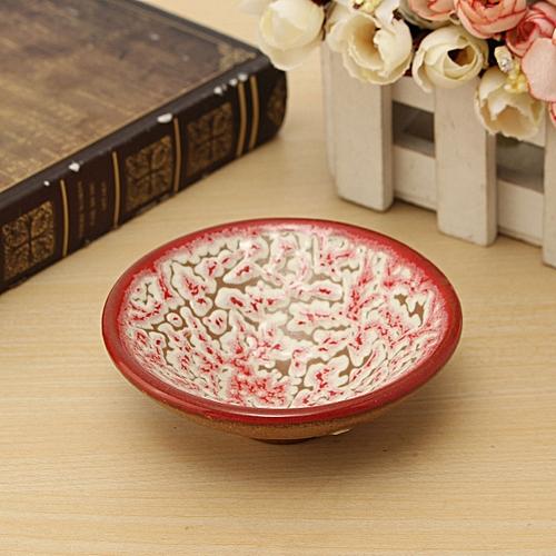 24 Style Chinese Kung Fu Tea Matcha Bowl Ceramic Tea Bowl 220ml Purple Sand Bowl
