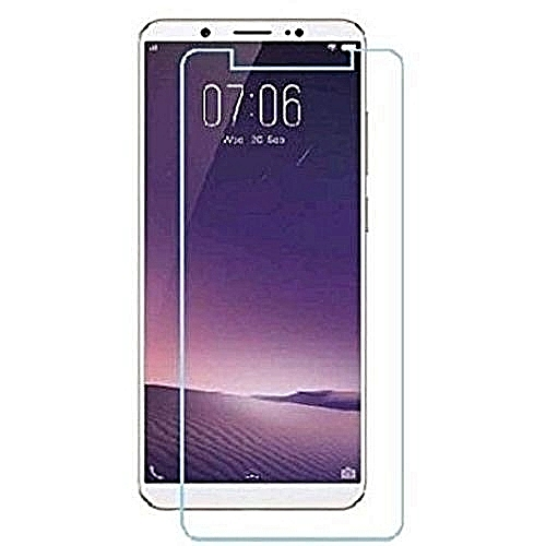 Infinix HOT 6 PRO (X608) TEMPERED GLASS SCREEN PROTECTOR (BUY 1 GET 1 FREE ) - Transparent
