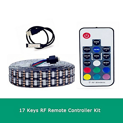 EeeToo 5V USB Kitchen Led Under Cabinet Light LED Wardrobe Lamp 5050 Flexible Lighting With 3Key/ 17Key Controller Night Lights