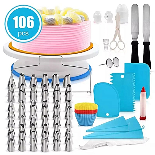 106Pcs Cake Decorating Tools