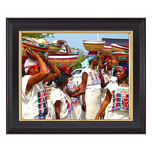 8 X 12 Inches Picture Frame - Hausa Fulani