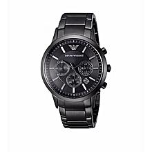 Black Plated Chronograph Men  039 s Luxury Wrist Watch 2ee2fed6b729b