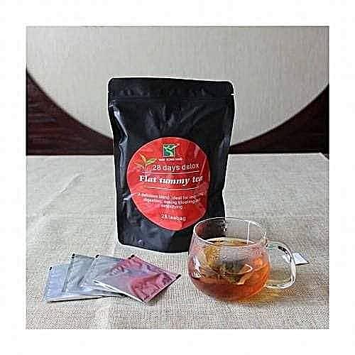 Flat Tummy Tea With Moringa - 28 Tea Bags
