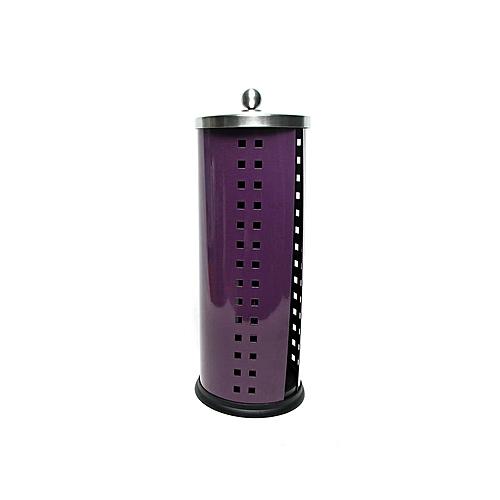 Toilet Roll Holder - Purple