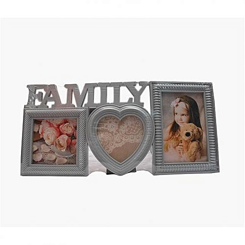 3 Pieces Of Wooden Wall And Picture Frame