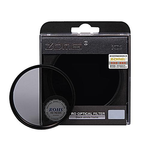 Neutral Density Camera ND Filter For Canon / Nikon / Sony Lens-Black
