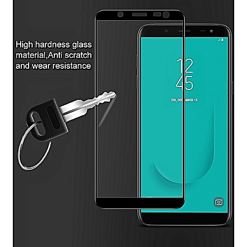 Samsung Galaxy J6 2018 3D Full Cover Tempered Glass Screen Protector