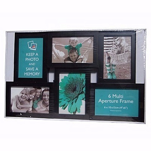Family Picture Frame - 6 Boxes