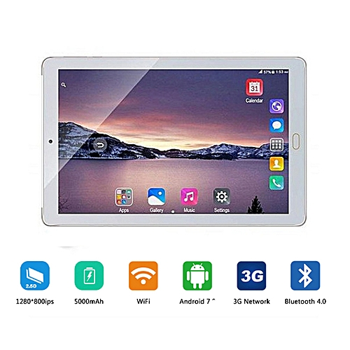 New 10.1 Inch Design 3G Phone Call Android 7.0 8 Core 64GB Tablet PC