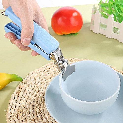 No Glue Stainless Steel Kitchen BBQ Utility Bowl/Pot Clip