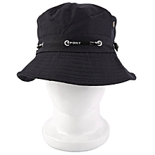 5650bec43ca Summer Beach Unisex Bucket Hat Flat Fishing Fisherman Outdoor Fashion Cap