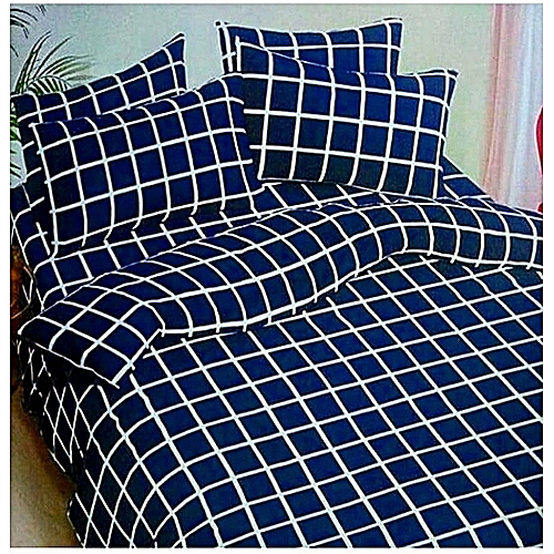 Quality Bedsheet With 2pillow Cases - Blue