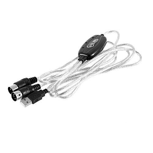 Generic USB IN-OUT MIDI Interface Cable Converter PC To