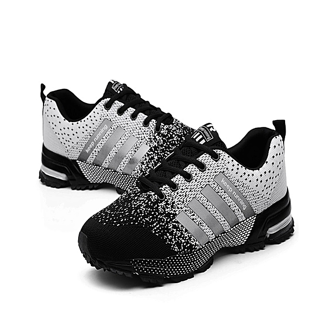 f02a95748757 ... Mens Sneakers Air Cushion Sports Running Shoes For Men Lightweight Breathable  Athletic ...