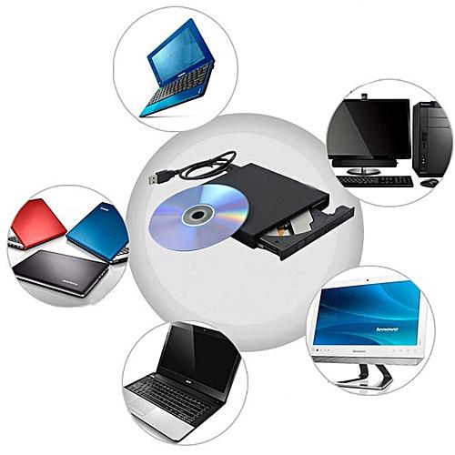 100% New External USB DVD + / - RW DVD-ROM CD-RW DVD-RW Burner Drive