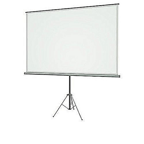 Projector Screen 72″ X 72″ With Tripod Stand Strong Quality