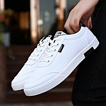 8ca65b93476 Men Shoes Students White Board Shoes Men Canvas Shoes Shoes